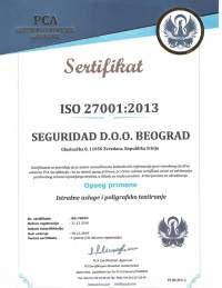 seguridad sertifikat iso 27001
